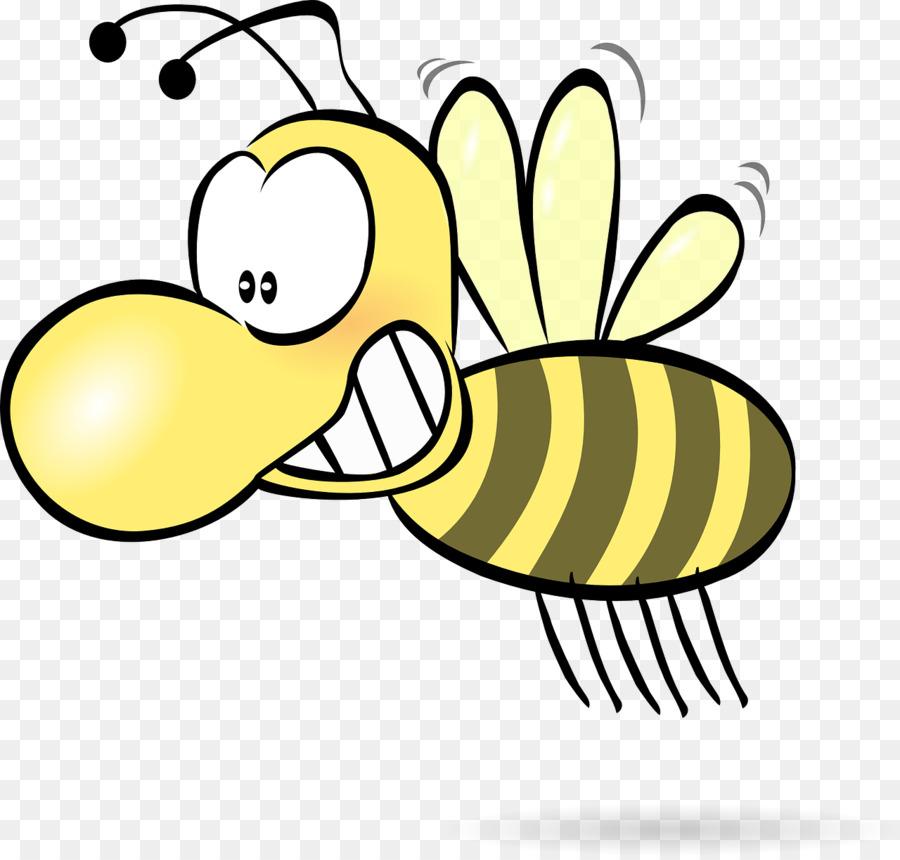 900x860 Honey Bee Cartoon Clip Art