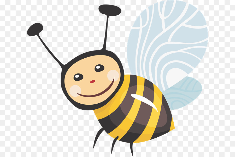 900x600 Honey Bee Insect Clip Art