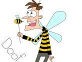 164x124 New Honey Bee Clip Art Abeilles Cartoons Vector Meme