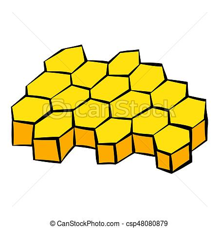 450x470 Honeycomb Icon, Icon Cartoon. Honeycomb Icon In Icon In Stock