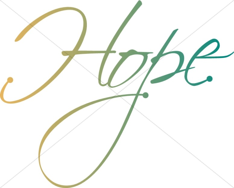 776x623 Hope Word Art Christian Christmas Word Art