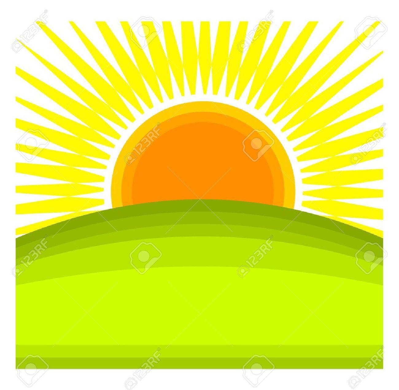 1300x1271 Horizon Clipart Sunshine