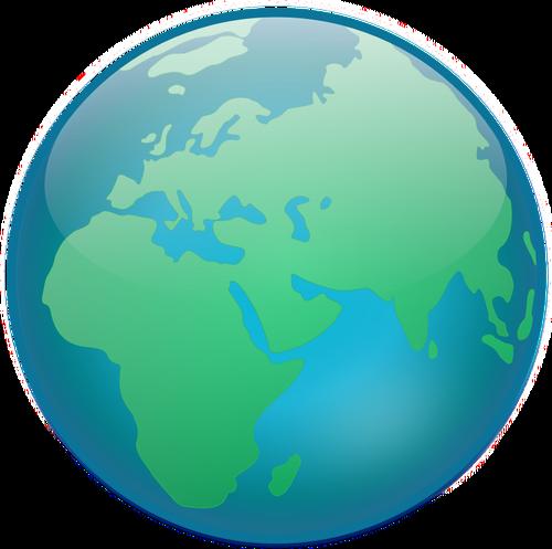 500x497 460 Planet Earth Clip Art Free Public Domain Vectors