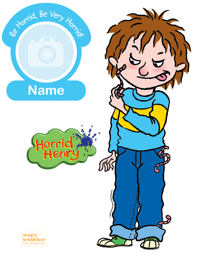 679x850 Horrid Henry Exclusive T Shirts