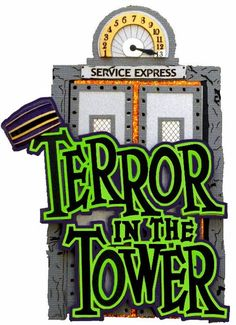 236x325 Tower Of Horror Clipart