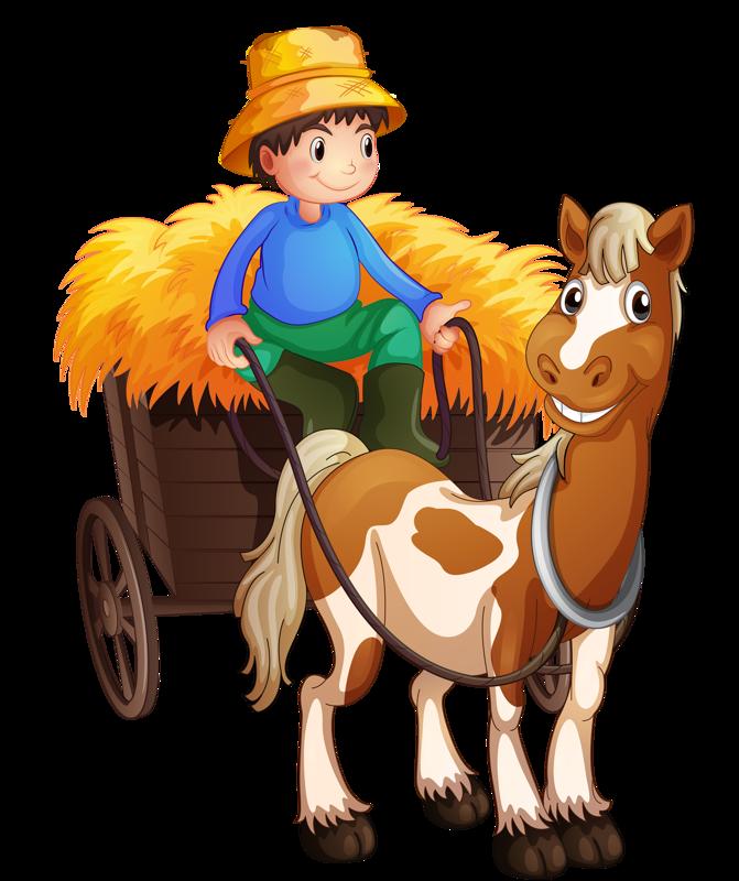 671x800 Horse Carriage Cart Clip Art