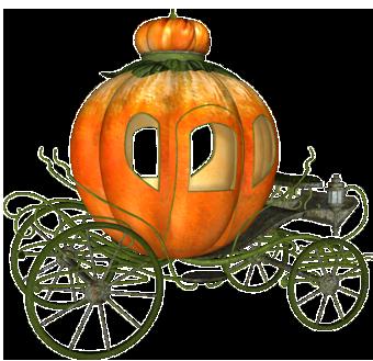 340x329 Pumpkin Carriage
