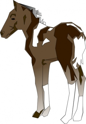294x425 Free Download Of Pony Clip Art Vector Graphic