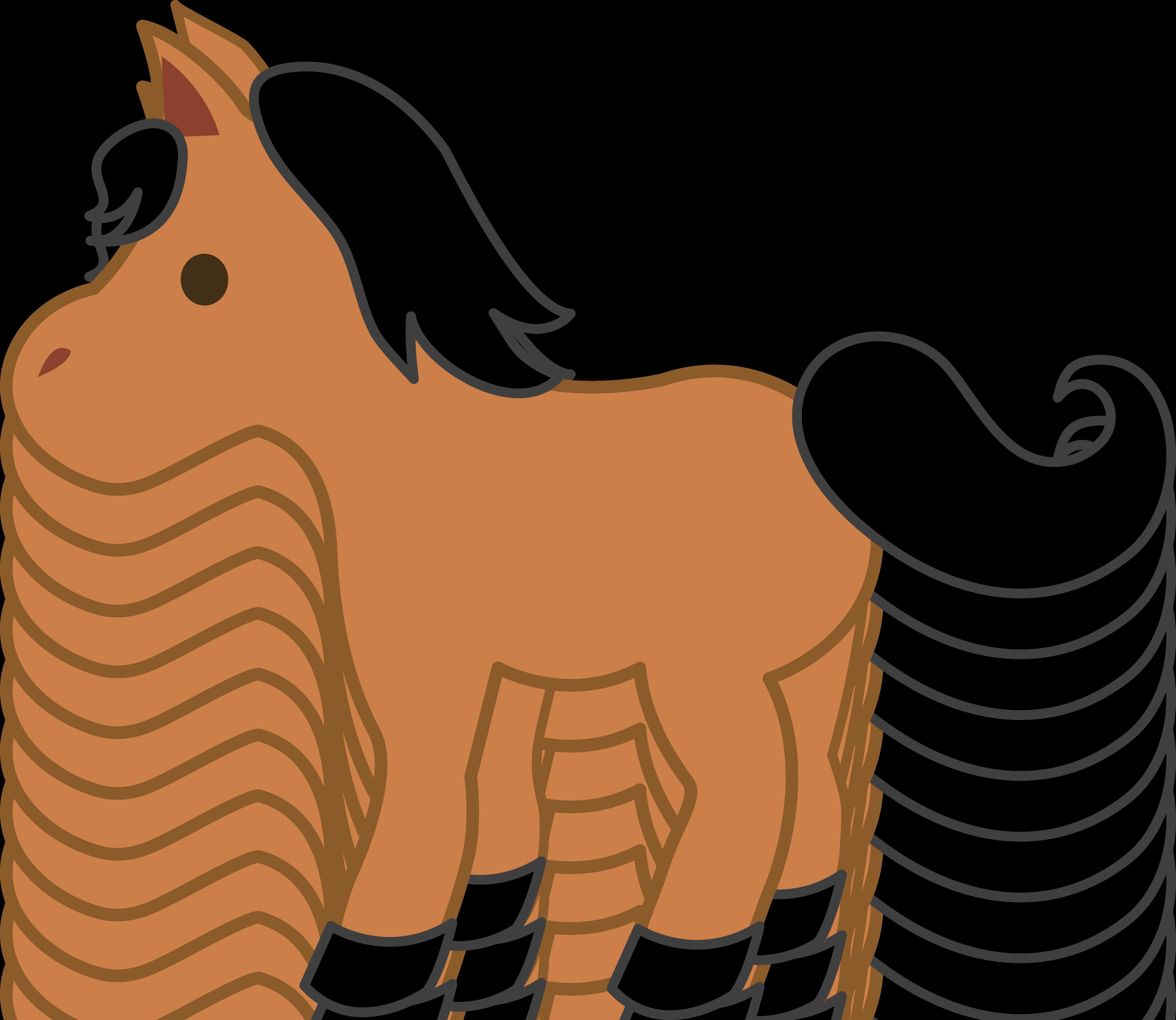 5024x4362 Pony American Miniature Horse Foal Clip Art