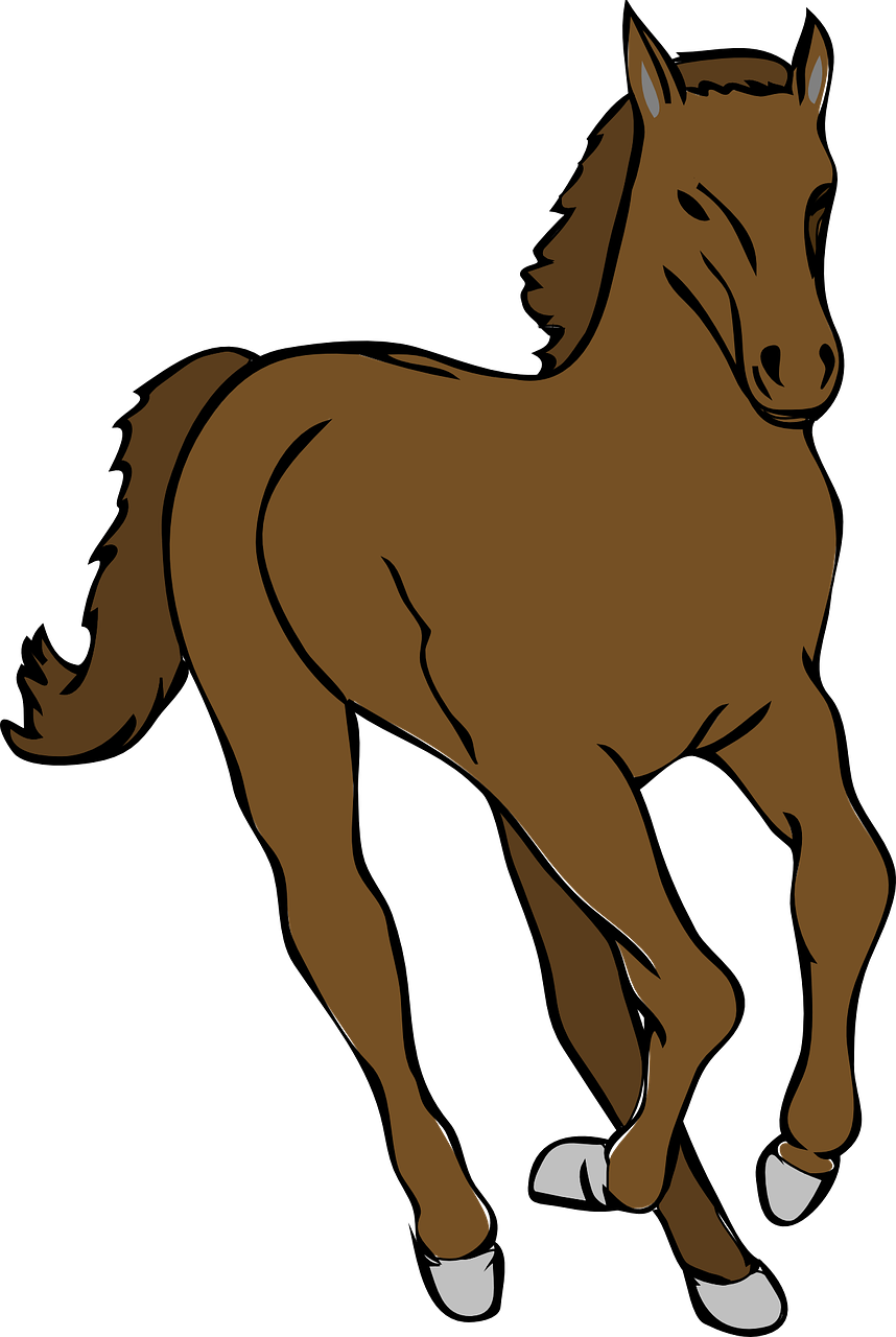 858x1280 Tennessee Walking Horse Mare Amp Colt Foal Clip Art