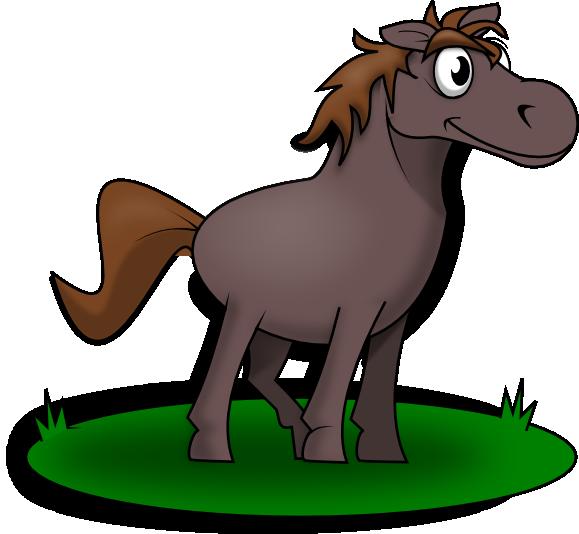 579x534 Cartoon Horse Head Clip Art