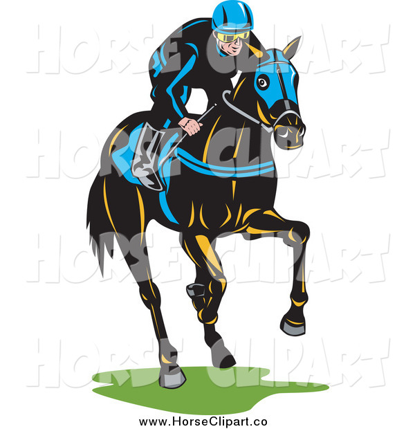 600x620 Jockey Clipart Best Free