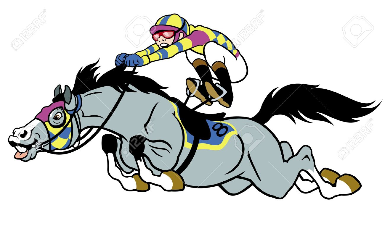 1300x764 Pictures Cartoon Race Horse Clip Art,