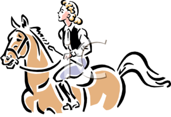 600x410 English Horse Riding Clipart Clipart Panda