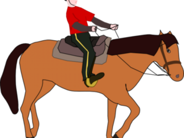 640x480 Horse Riding Clipart