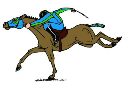 480x339 Jockey Text Book Illustration