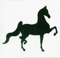 236x229 American Saddlebred Clipart