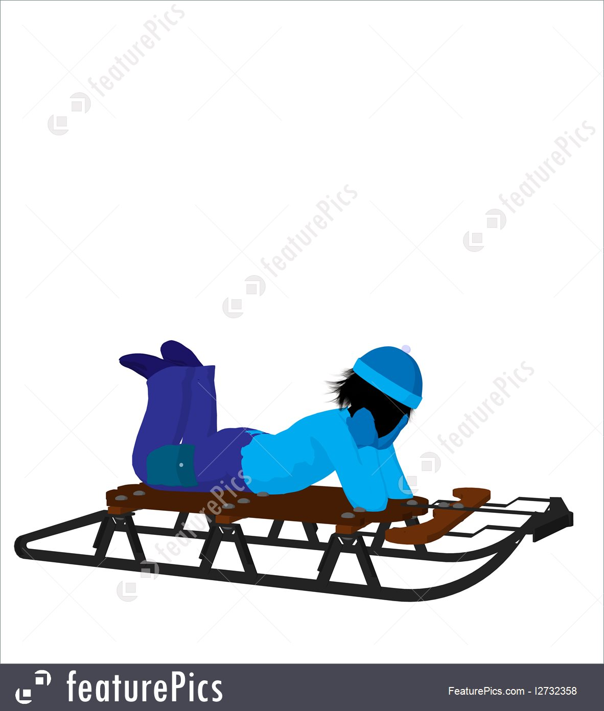1182x1392 Children Boy On A Sled