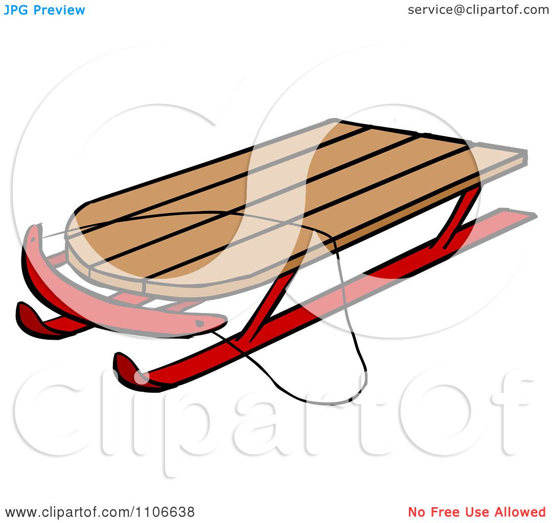 1080x1024 Clipart Toy Sled