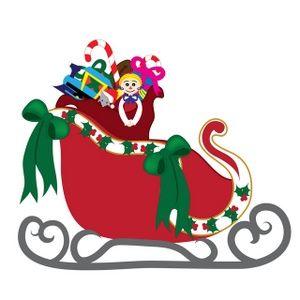 300x300 Free Printable Lds Christmas Clip Art Santa's Sleigh Clip Art