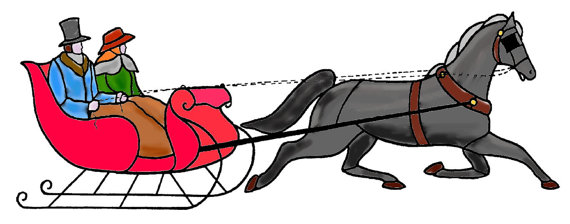 horse and sleigh clipart at getdrawings com free for personal use rh getdrawings com horse drawn sleigh clip art Horse-Drawn Sleigh Clip Art