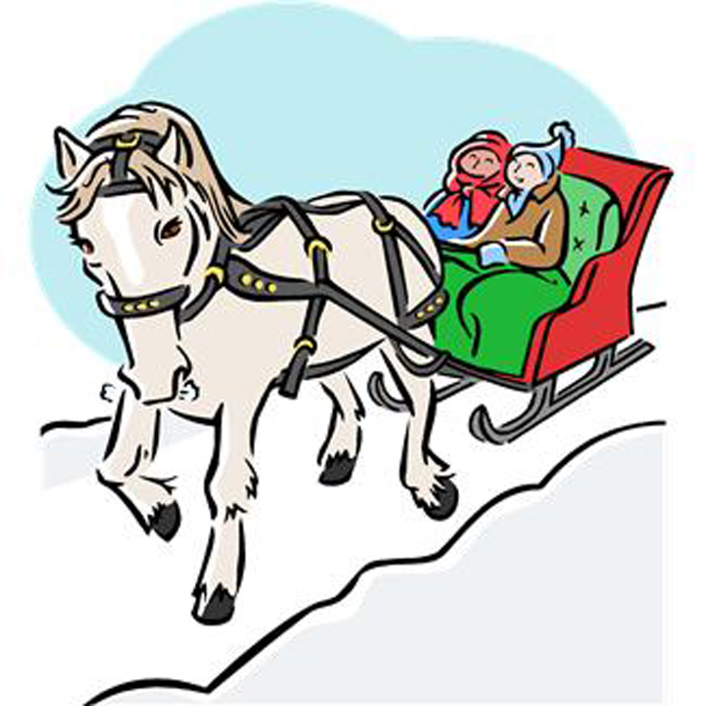 horse and sleigh clipart at getdrawings com free for personal use rh getdrawings com Horse Sleigh in Snow Clip Art horse drawn sleigh clip art