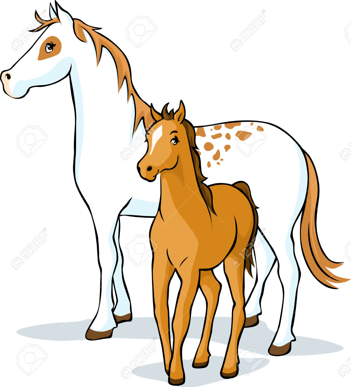 1177x1300 Horse And Foal Clipart Amp Horse And Foal Clip Art Images
