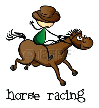 410x450 Horse Racing Images Clip Art Free Download Clip Art Sunscreen