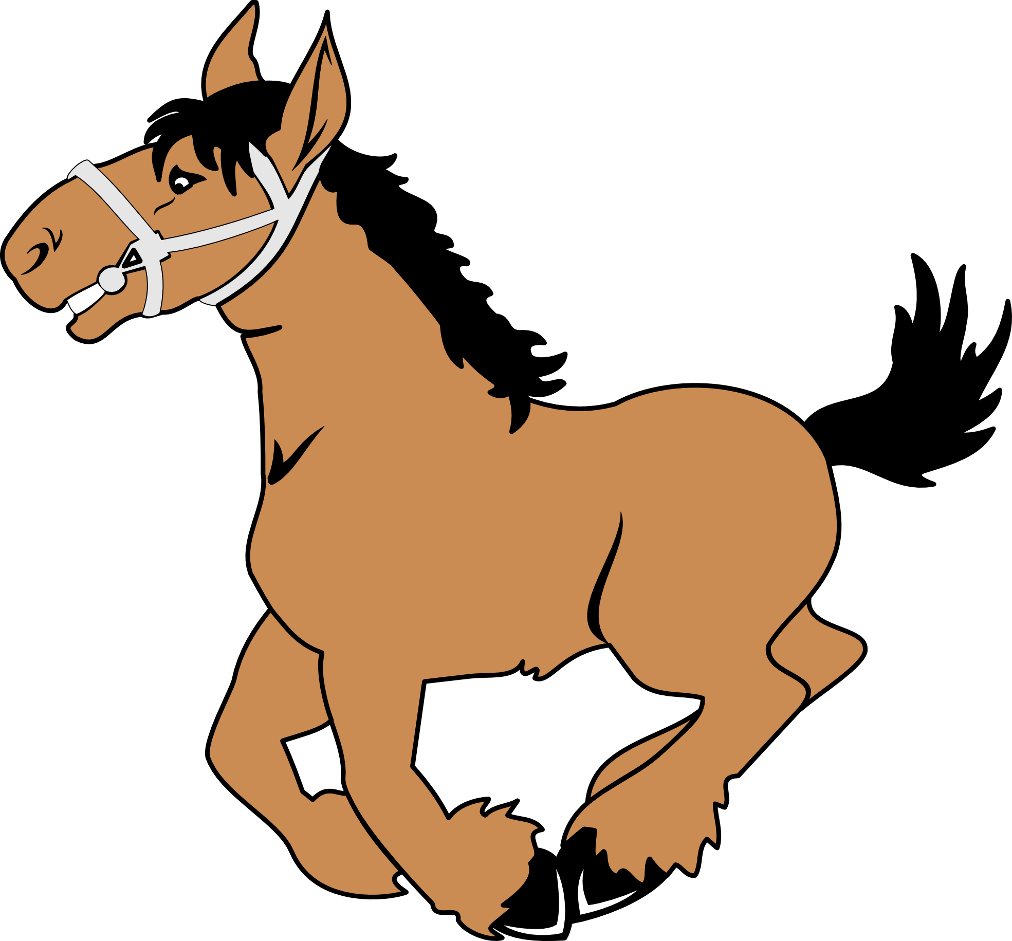 1969x1831 Horse Clipart Animation Black Amp White