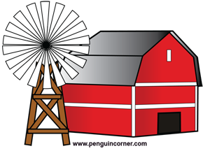 300x216 20 Red Barn Clip Art ClipartLook