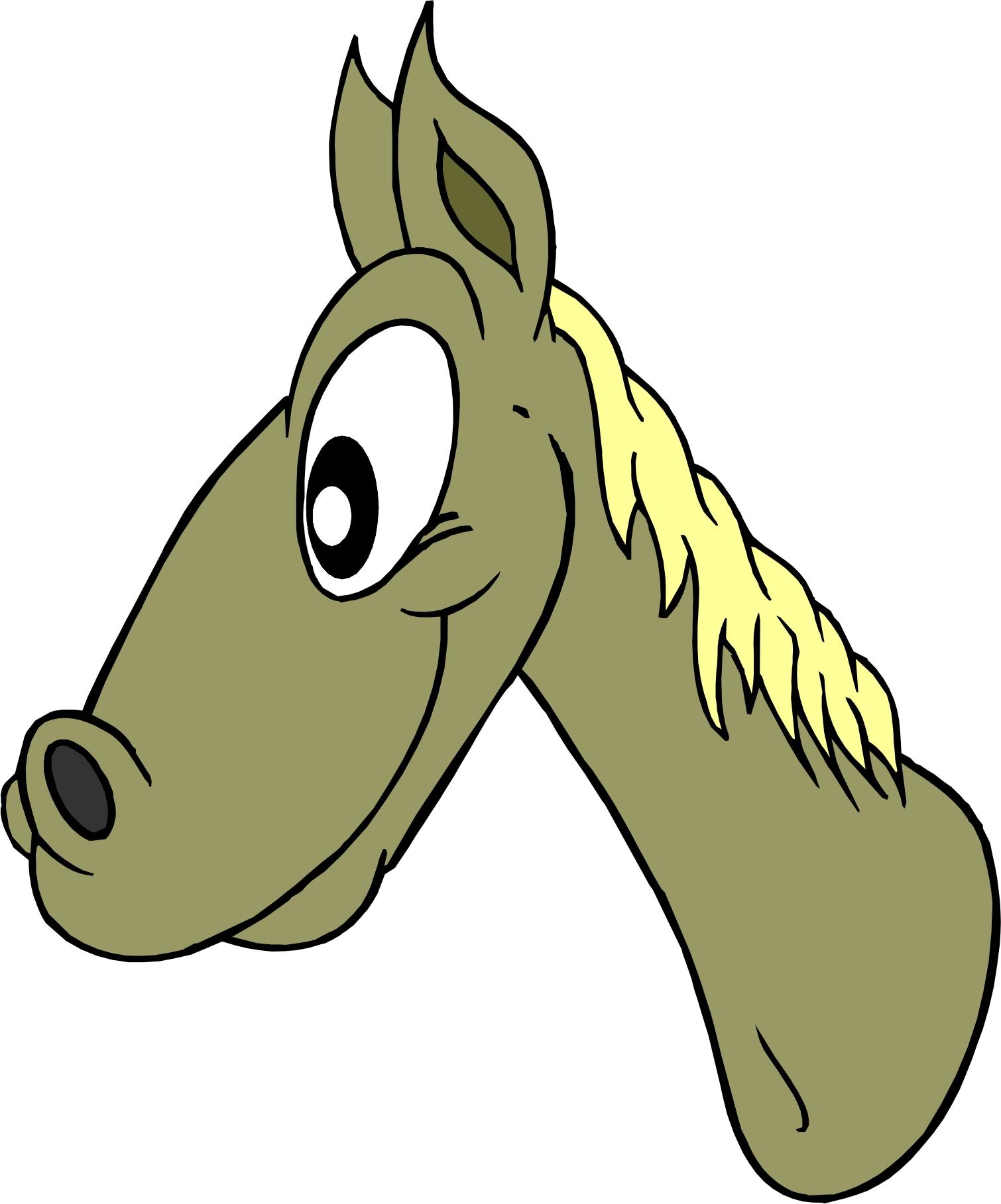 1510x1817 Cartoon Horse Head Images Wallpaper