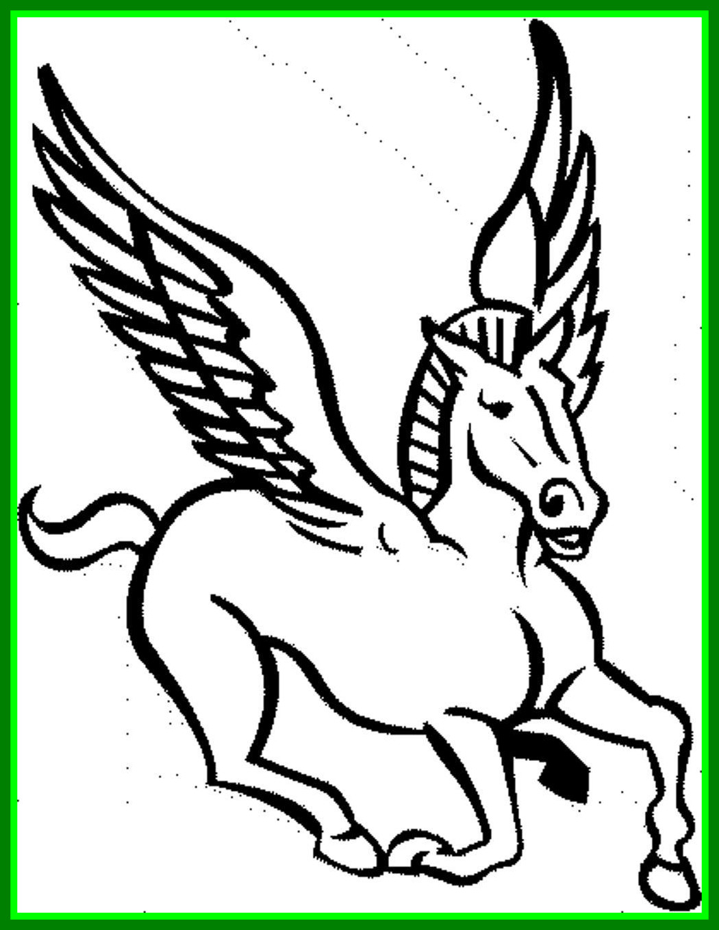1050x1358 Fascinating Fun Horse Coloring For Your Kids Printable Pic Of