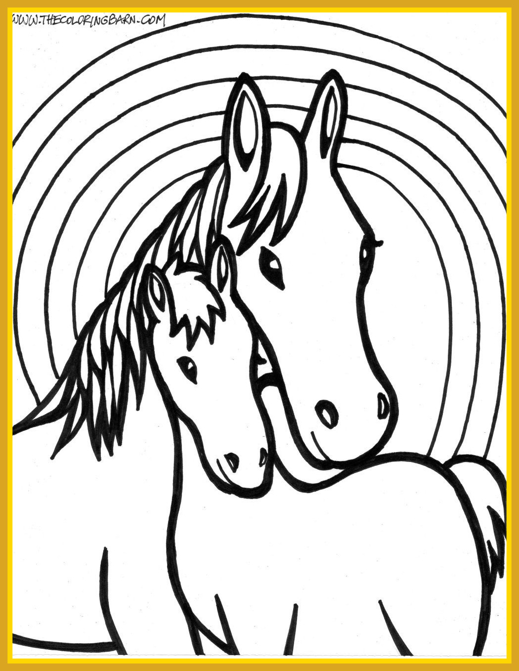 1050x1358 The Best Printable Horse Coloring Pages Pics Of Colouring