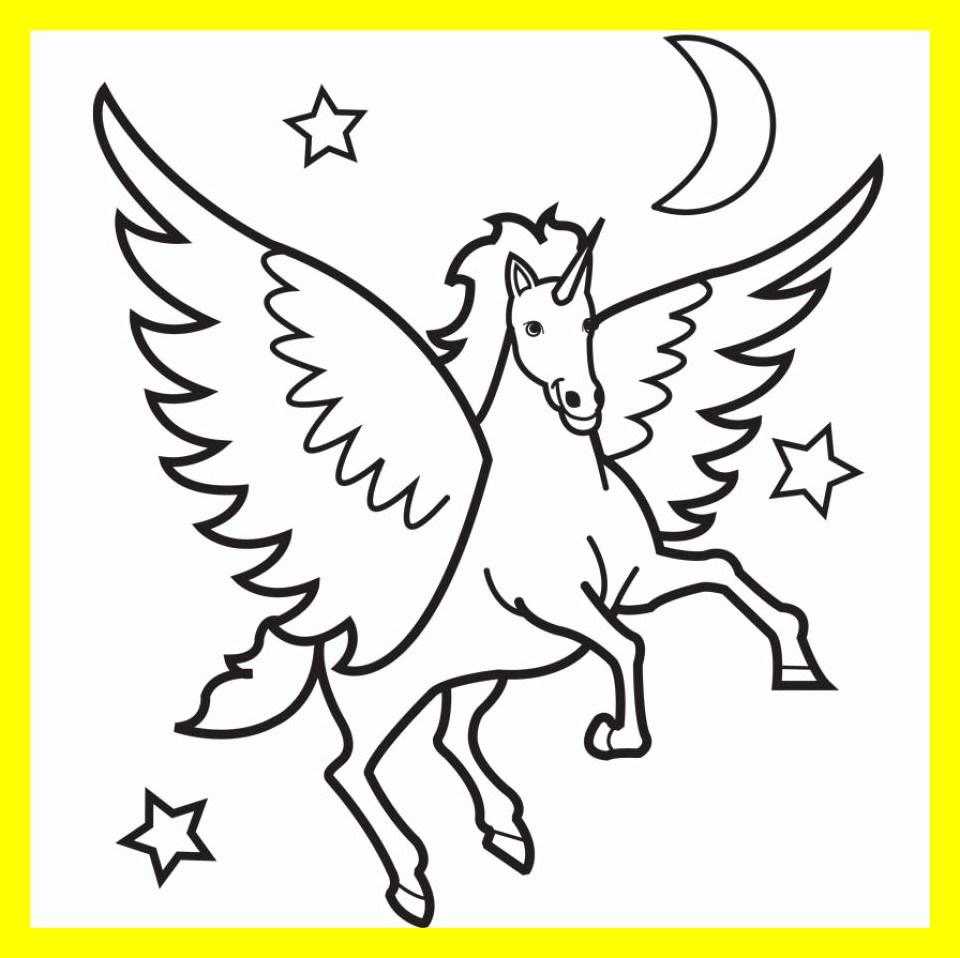 960x958 Amazing Printable Horse Coloring Pages Inspirational Carousel Clip