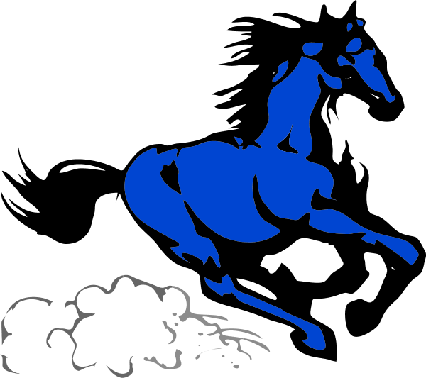 Horse Galloping Clipart
