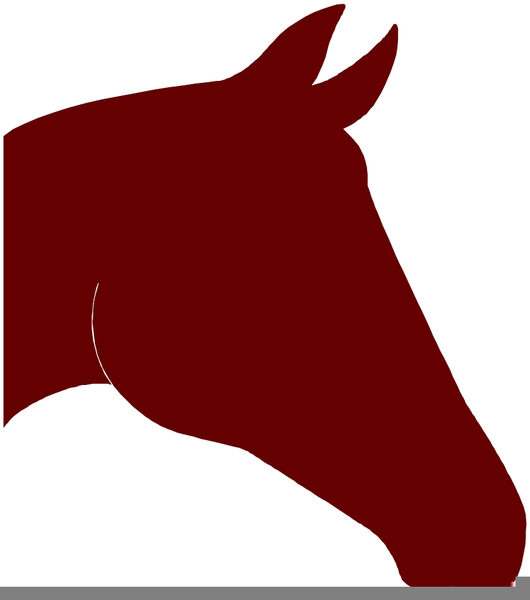 530x600 Horse Head Outline Clipart Free Images