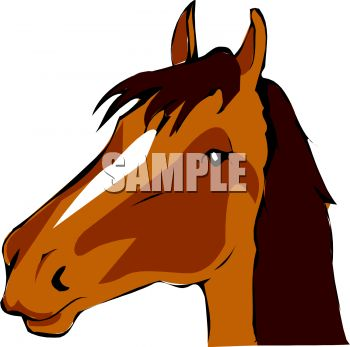 350x347 Horse Head Clipart Horse Head Royalty Free Clipart Picture Clipart