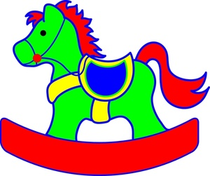 300x251 Free Rocking Horse Clipart Image 0515 1004 0904 2956 Computer
