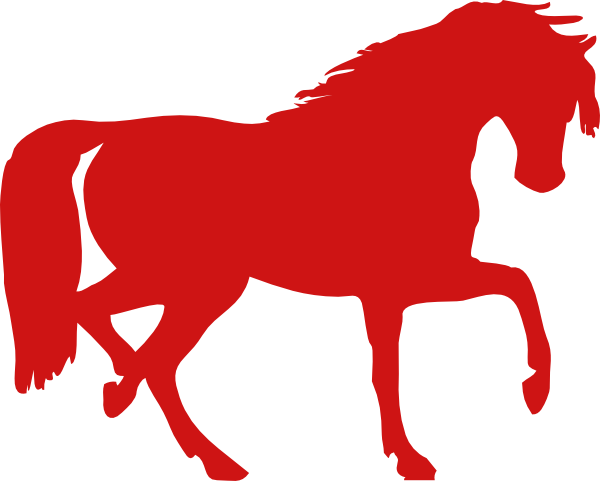 600x481 Collection Of Red Horse Clipart High Quality, Free Cliparts