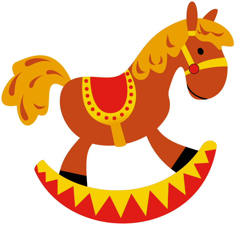 800x765 Rocking Horse Clipart Toys And Games For All Walks Of Life