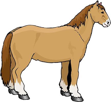 434x400 Sad Horse Cliparts 101 Clip Art