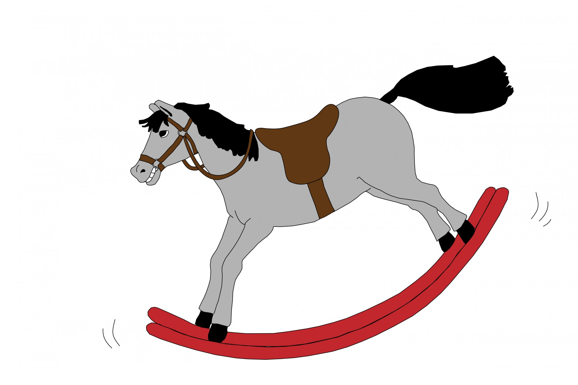 1920x1280 Rocking Horse Clipart Free Stock Photo