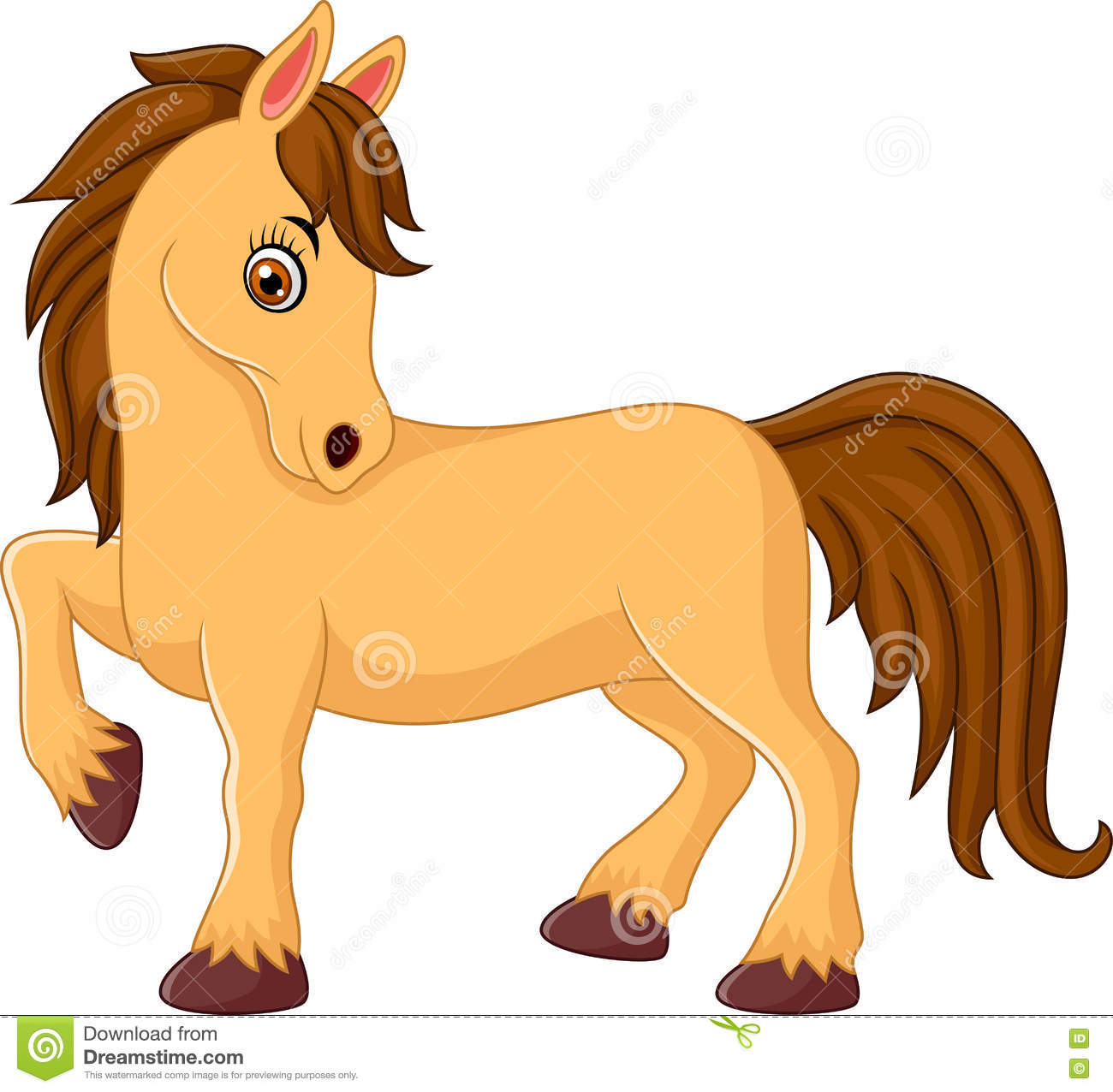 1300x1276 Breathtaking Cartoon Horse Pictures 13 Horses Collection 003