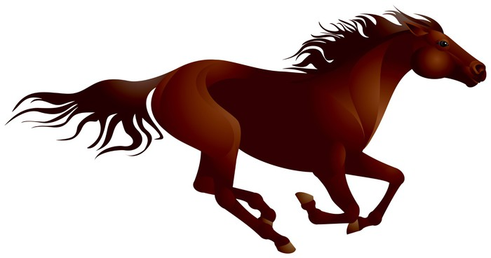 700x368 Mustang Horse Running Wall Mural We Live To Change