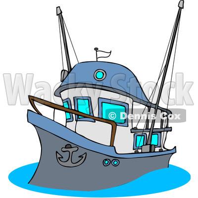 400x400 Boat Clipart Illustration