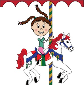 296x300 Free Carousel Horse Clipart Image 0515 0911 0912 3020 Horse Clipart