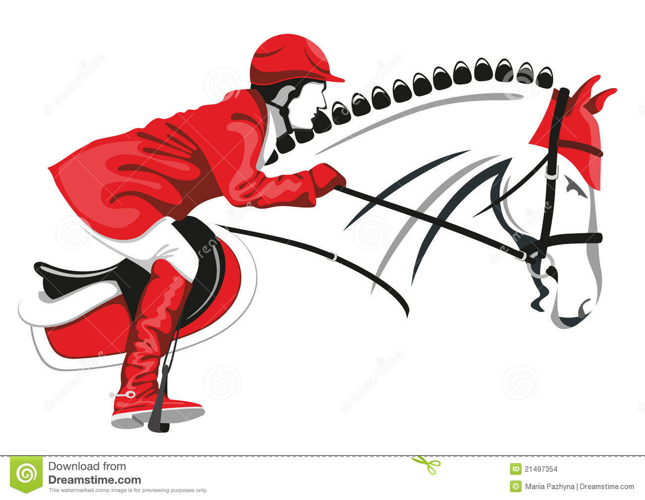 1300x1008 Horse Jumping Clipart