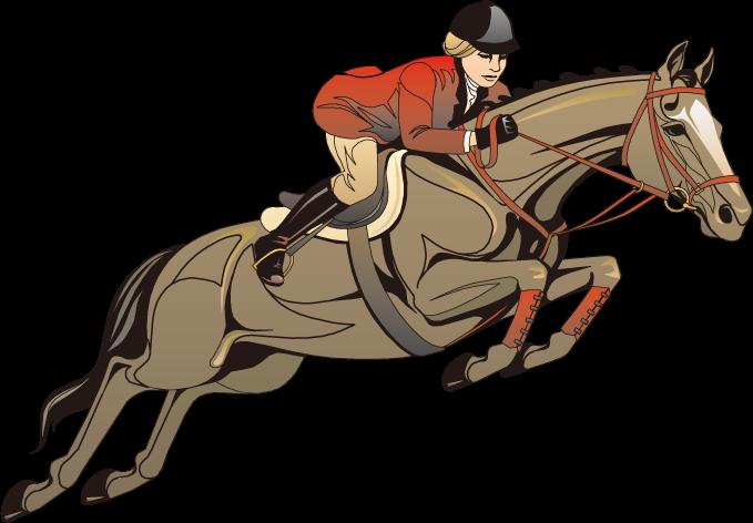 679x472 Horseamprider Clip Art