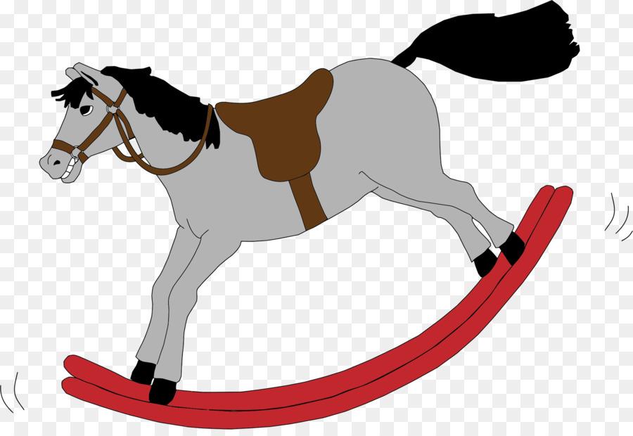 900x620 Rocking Horse Clip Art