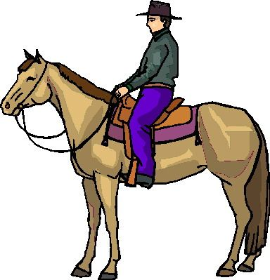 384x399 Ideal Clipart Horse Riding